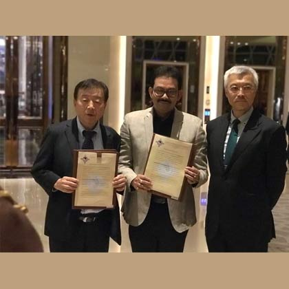 A MOU gets signed between SNU and MEISTERBIO CO LTD